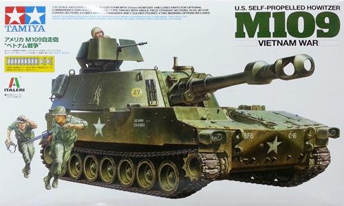 TA37013 U.S.M109 VIETNAM WAR 1/35