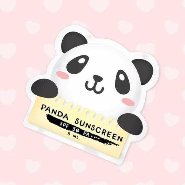 Panda Sunscreen by Three Brand 8 ml. กันแดดแพนด้า กันแดดเนื้อบางเบา ดุจใยไหม
