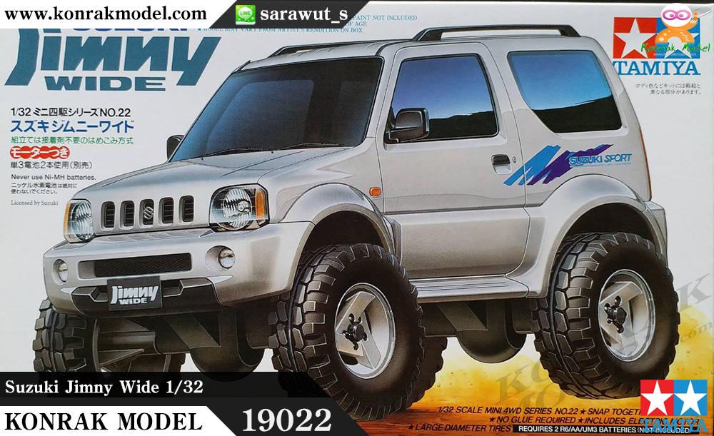 TA19022 Suzuki Jimny Wide 1/32