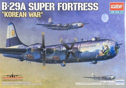 AC12413 B-29 KOREAN WAR 1/72