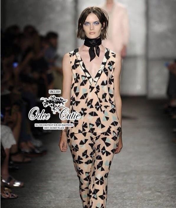 ชุดเซ็ทเสื้อ กางเกงแพทเทิร์นแบรนด์เนม Marc by Marc Jacobs