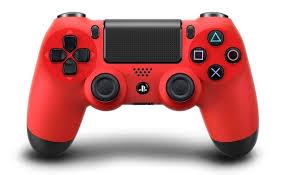 จอย PS4: Dual Shock 4 - Red [PC/PS4]