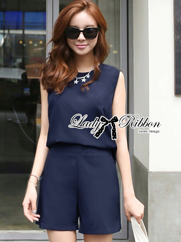 Lady Ribbon Lady Vicky Gorgeous Minimal Chic Jumpsuit