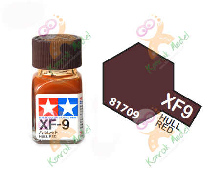 Enamel XF9 Hull Red 10ml