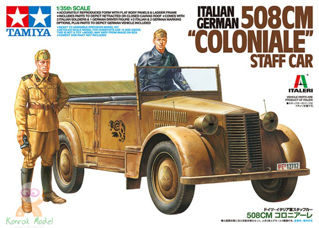 "TA37014 508CM ""Coloniale"" Staff Car"