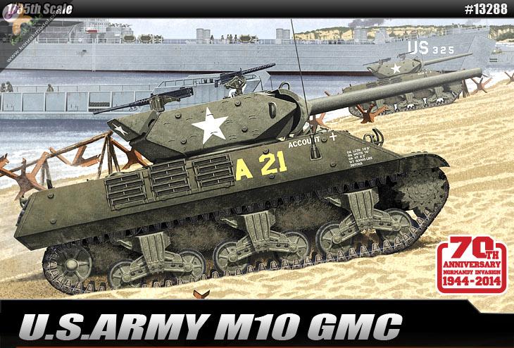 AC13288 U.S.ARMY M10 GMC 1:35