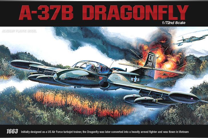 AC12461 A-37B DRAGONFLY (1/72)