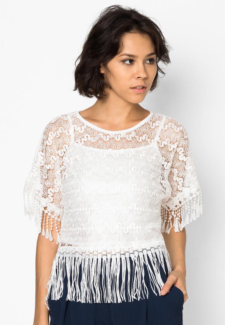 เสื้อเบลาส์ Hot Lace
