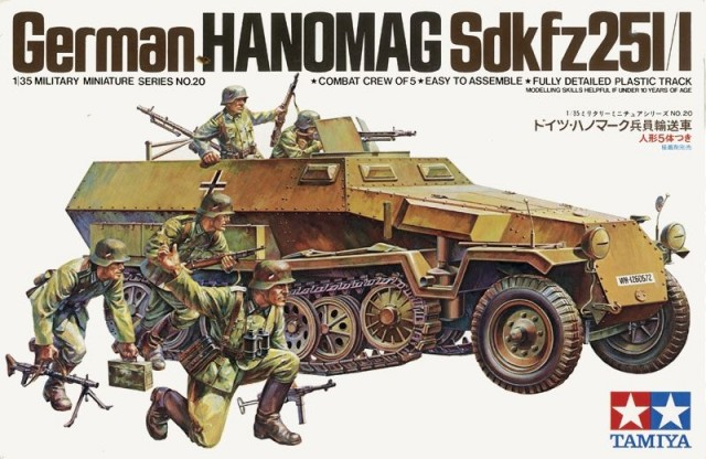 TA35020 German Hanomag Sdkfz 251/1 Kit