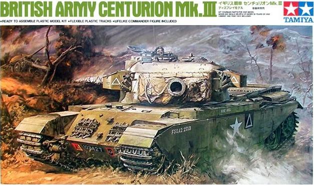 TA25412 British Army Centurion Mk.3 1/35