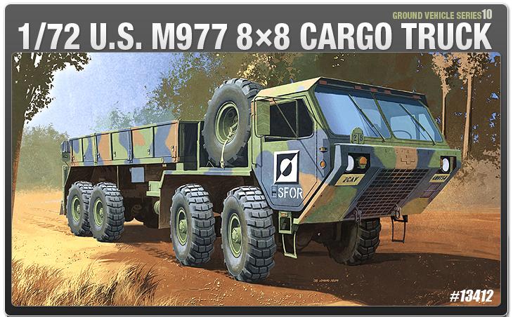 AC13412 U.S.M977 CARGO TURCK 1/72