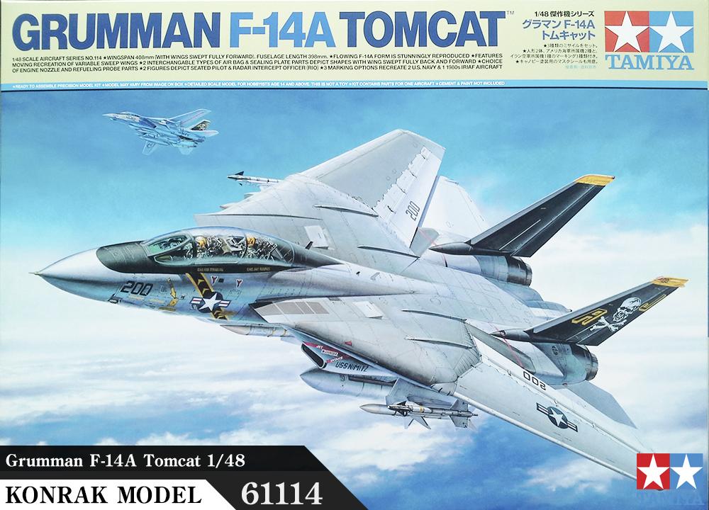 TA61114 Grumman F-14A Tomcat 1:48