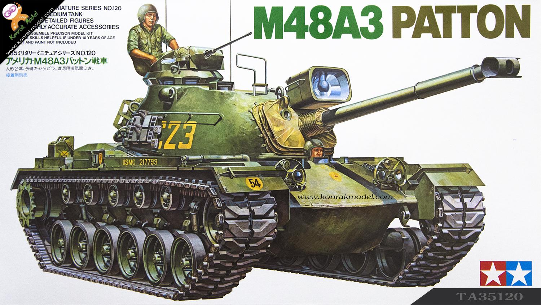 TA35120 U.S. M48A3 Patton Kit 1/35