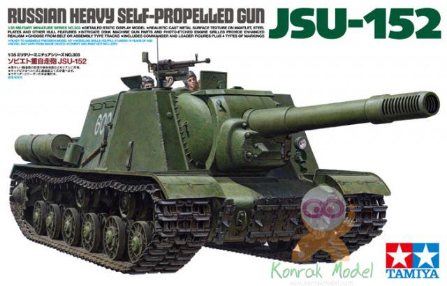 TA35303 Russian Heavy SP Gun JSU-152