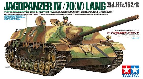 TA35340 GERMAN JAGDPANZER IV/70(V) LANG 1/35