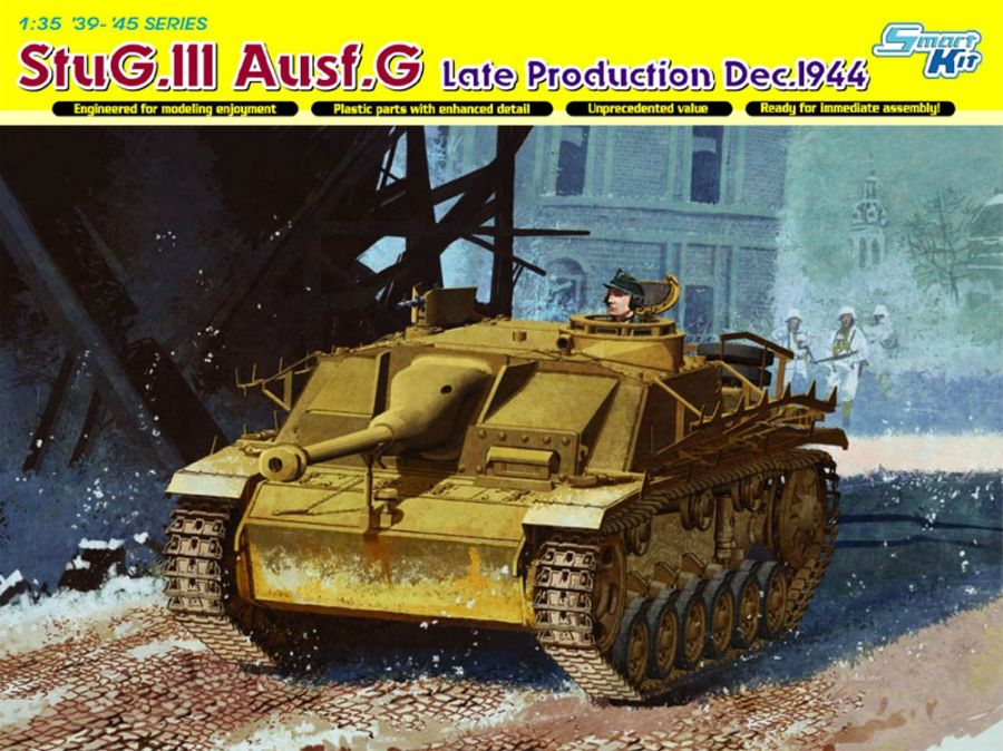 DRA6593 STUG.III AUSF.G DEC 44 PRODUCTON 1/35 SCALE