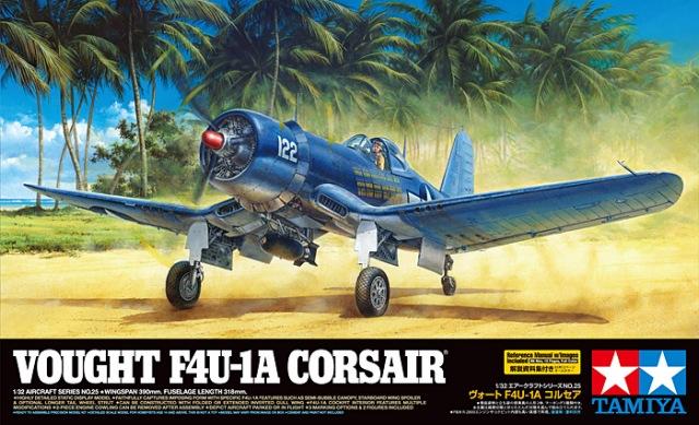 TA60325 1/32 Vought F4U-1A Corsair
