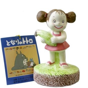 กล่องดนตรีเซรามิก My Neighbor Totoro (เมย์อุ้มข้าวโพด)