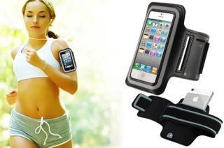 เคสสายรัดแขนiPhone5/5sสำหรับคนชอบออกกำลังกาย-ARM BAND Sport iPhone5/5s