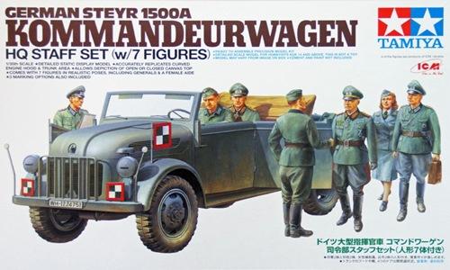 TA25149 GERMAN STEYR 1500 KOMMANDEURWAGEN 1/35
