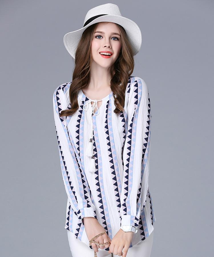 เสื้อเบลาส์ Linin Long Sleeves