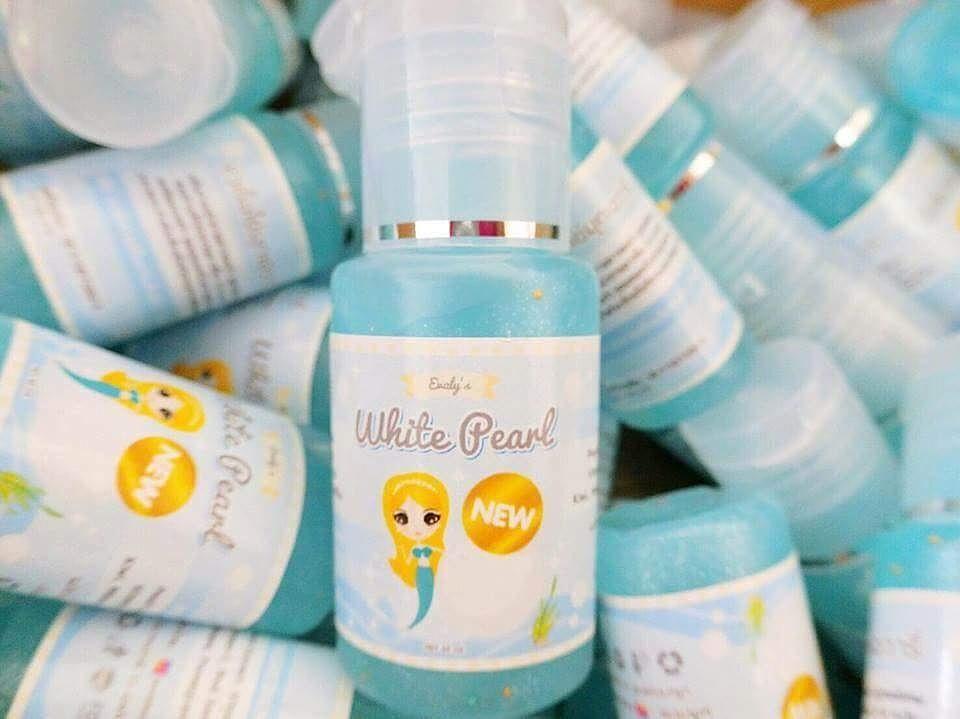 White Pearl by Evaly's 35 ml. ไวท์ เพิร์ล หัวเชื้อไข่มุก หยุดใช้ไม่ดำกว่าเดิม วิตามินเต็มขวด