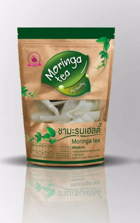 Moringa Tea ชามะรุม เจนเฮิร์บ ซองน้ำตาล แพคเกจใหม่
