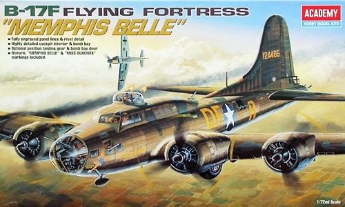 AC12495 B-17F MEMPHIS BELLE 1/72