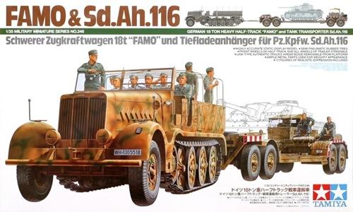 TA35246 FAMO & Sd.Ah.116 1/35