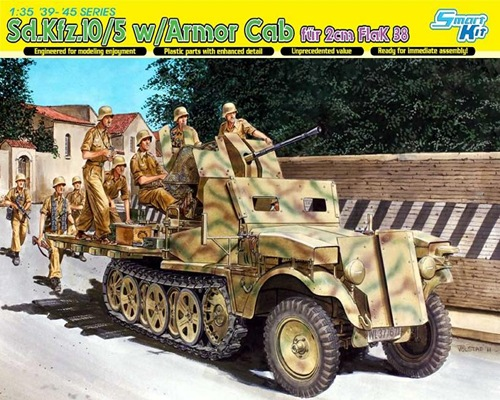 DRA6677 Sd.Kfz. 10/5 w/ARMOR CAR (1/35)