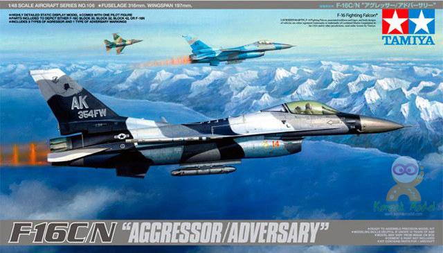 """TA61106 1/48 F-16C/N """"Aggressor/Adversary"""""""