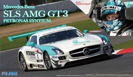 125657 MERCEDES-BENZ SLS AMG GT3 PETRONAS SYNTIUM 1/24