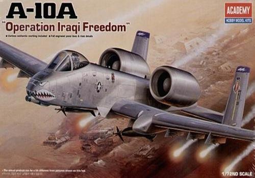 AC12402 A-10A IRAQI FREEDOM(1/72)