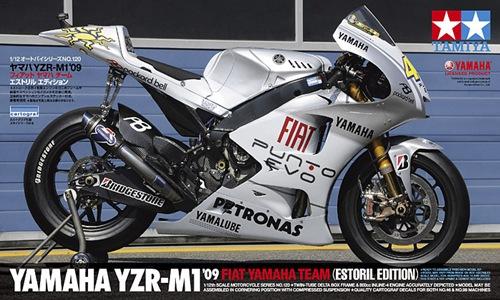 TA14120 YZR-M1'09 FIAT YAMAHA ESTORIL 1/12