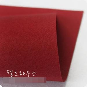 ผ้าสักหลาดเกาหลีสีพื้น hard poly colors 841 (Pre-order) ขนาด 90x110 cm/หลา