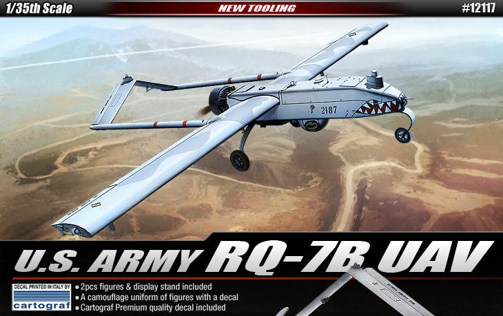 AC12117 U.S. ARMY RO-7B UAV 1/35