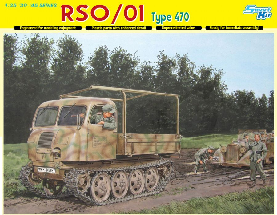 DRA6691 RS0/1 TYPE 470 1/35 SCALE