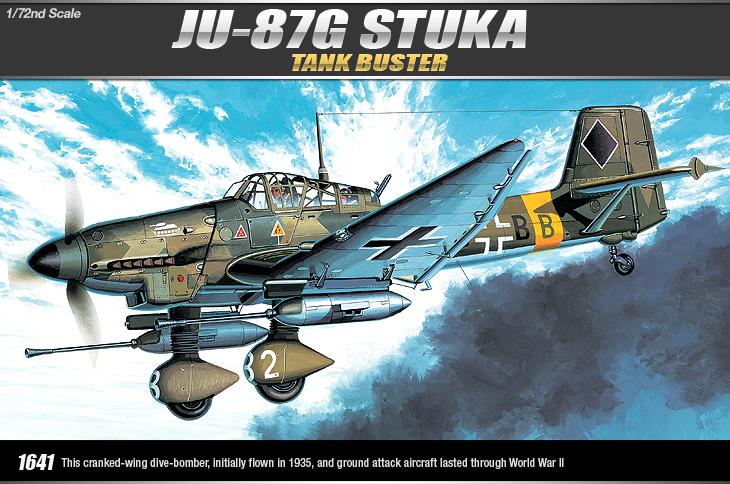 AC12450 JU-87G STUKA (1/72)