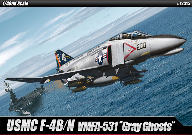 AC12315 F-4BN Phantom II 'VMFA-531 Gray Ghosts 1/48