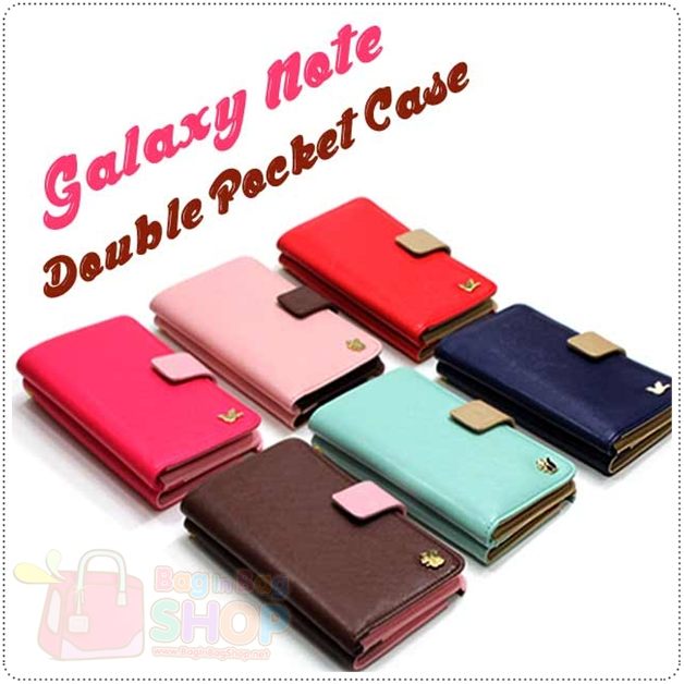 Double Pocket Case for Galaxy Note