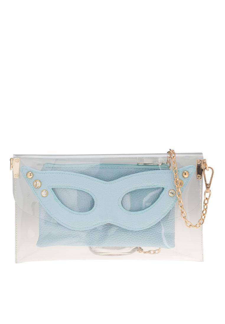 กระเป๋าสะพายข้าง Nifty Mask Transparent