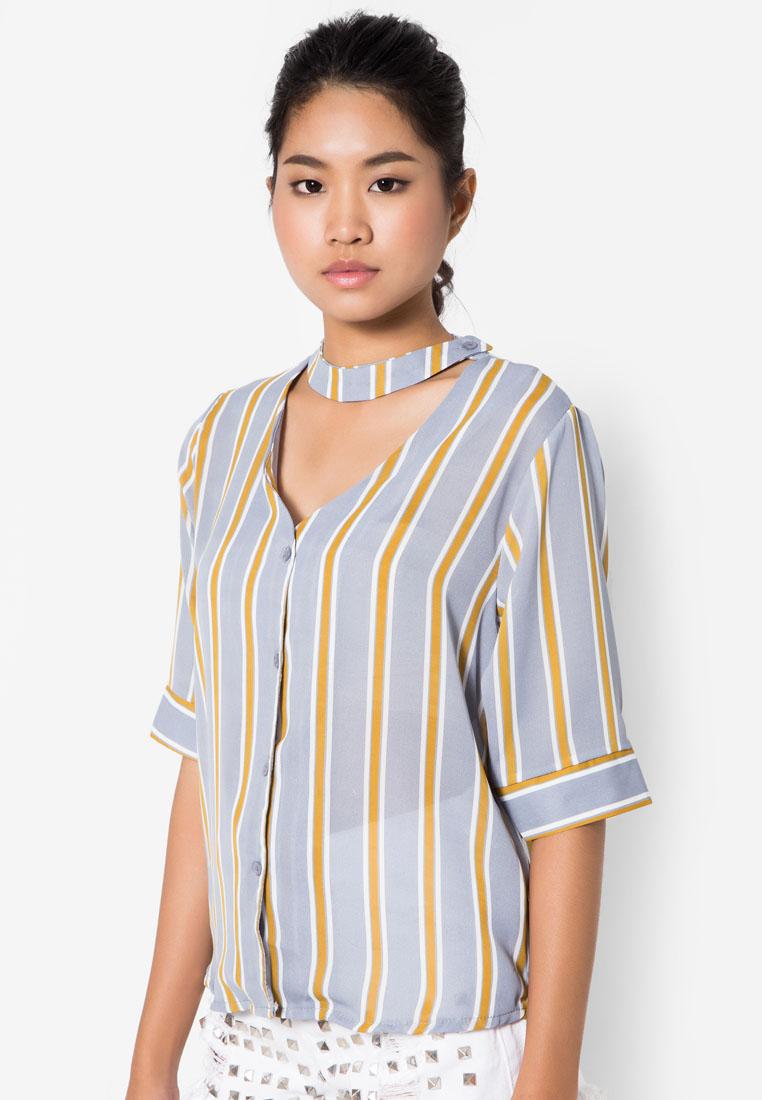 เสื้อเบลาส์ Edgy Vintage