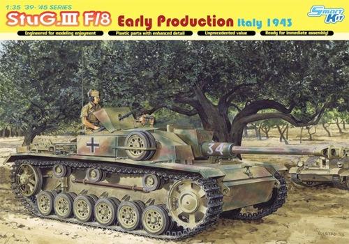 DRA6620 StuG. III F/8 Early Production Italy 1943 (1/35)