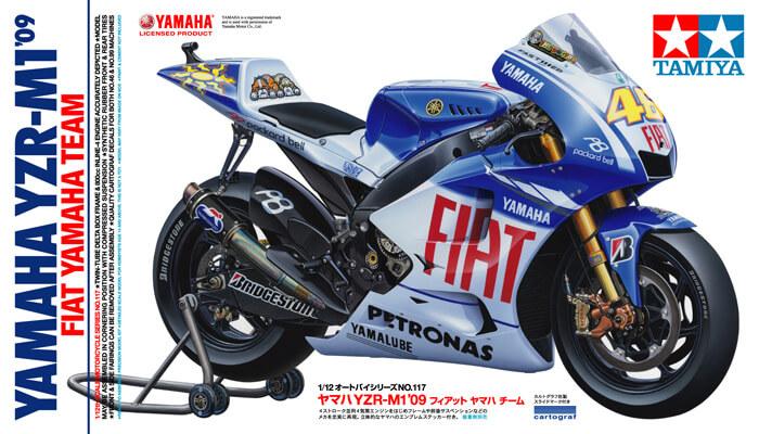 TA14117 YAMAHA YZR-M1 '09 - Fiat Yamaha Team