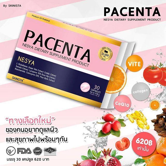 Pacenta by Skinista พาเซนต้า วิตามินอนุพันธ์ รูปแบบใหม่ เพื่อผิวที่ดูขาว และผิวดูอ่อนกว่าวัย