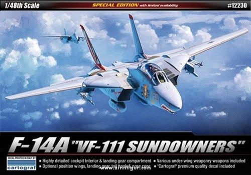 AC12230 F-14A VF-111 SUNDOWNERS 1/48