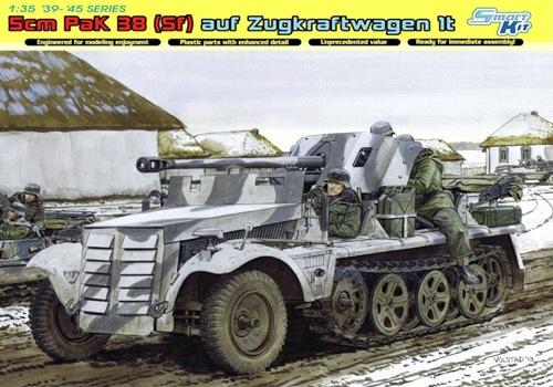 DRA6719 5cm PaK 38 (Sf) auf Zugkraftwagen 1t (1/35)