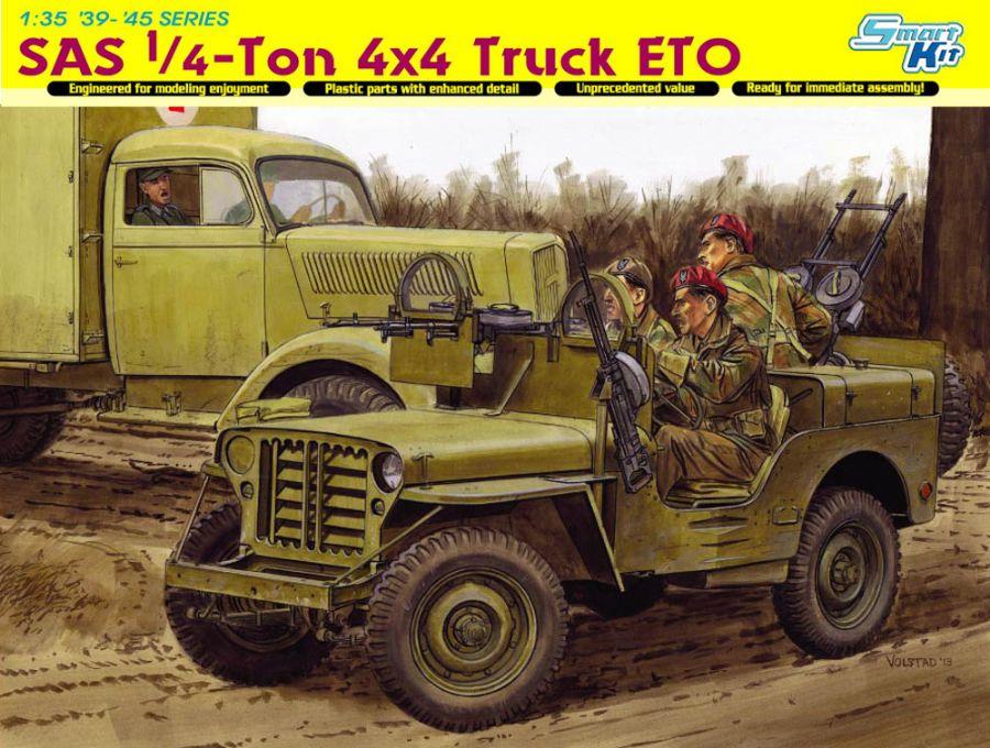 DRA6725 SAS1/4-TON 4x4 TRUCK ETO 1/35