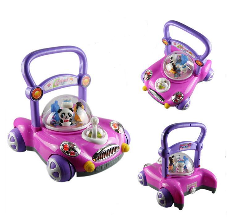 รถผลักเดิน แพนด้า (สีชมพู) ปรับหนืดได้