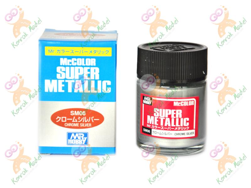 SM06 Mr Color Super Metallic [Super Chrome Silver]